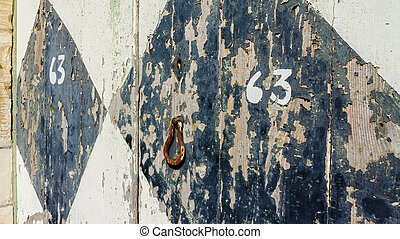 old door Gozo - door without maintenance in Gharb, Gozo