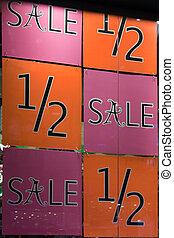 Rabatt, Verkauf, zeichen