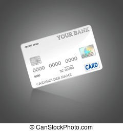 Template credit card