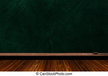 Chalk Board Background With Copy Space