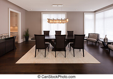 Dining room - Elegant dining room in a luxury house