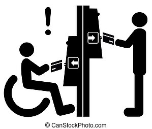 Disability Inclusion - Making automated teller machines or...