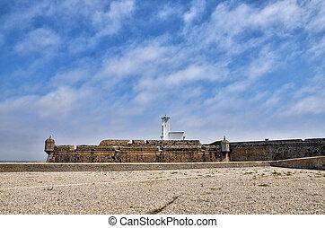 Peniche, Portuguese destination - Fortress of Peniche, on...