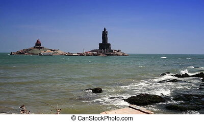 Vivekananda Rock Memorial and Thiruvalluvar Statue,...