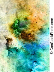 Nebula, Cosmic space and stars, cosmic abstract background...