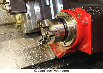 CNC Machine Head - CNC Head in Milling and Machining Center...