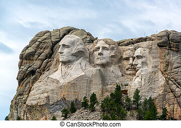 Mount Rushmore View - View of Mount Rushmore National...