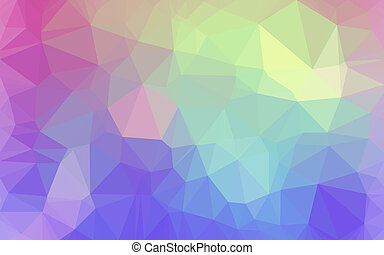 Abstract low poly background, geometry triangle, mosaic...