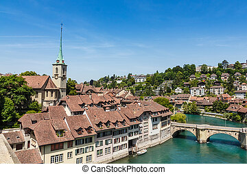 Bern, capital city of Switzerland - View of the Bern,...