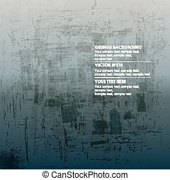 Abstract grunge gray background for text