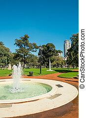 Palermo parks, Buenos Aires - BUENOS AIRES, ARGENTINA -...