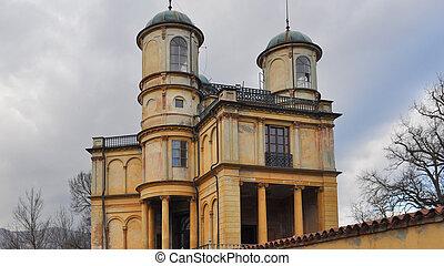 La Bizzarria building in Venaria - La Bizzarria baroque...