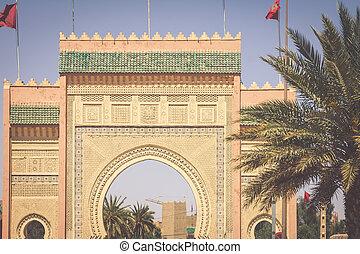 Morocco, Erfoud, Desert Gate