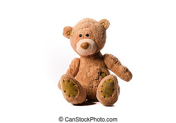 Bear soft toy - Small Grey toy teddy bear soft toy
