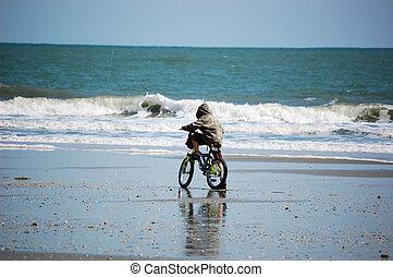 浜,  biking