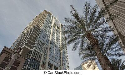 4K Time lapse shadow Skyscraper Phoenix