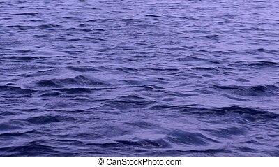 Waves - Meditative blue river waves.