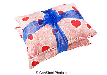 Heart pillow gift - Valentines day red love heart...