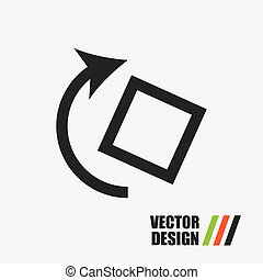 applications icon design, vector illustration eps10 graphic