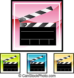 clapboard - Movie Clapboard