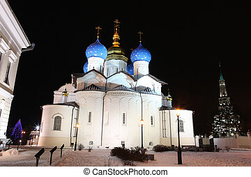 the Cathedral of the Annunciation in Kazan Kremlin - an...