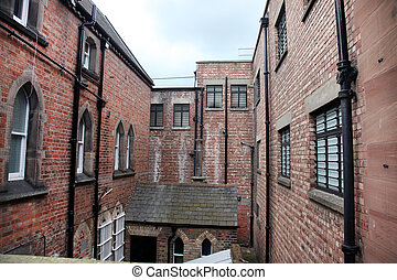 Old  house of in Chester, UK
