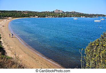 Sardinia - Palau, Beach Of Punte Saline - Travel Series...