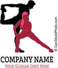 Sport Partner Logo - Vector Illustration of Sport Partner...