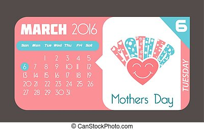 6 March Mothers Day