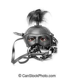 Sadomasoquismo, máscara, ojos