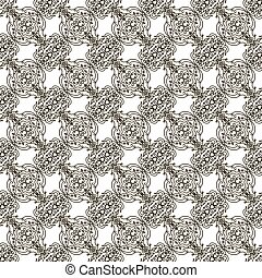Seamless background in Baroque style
