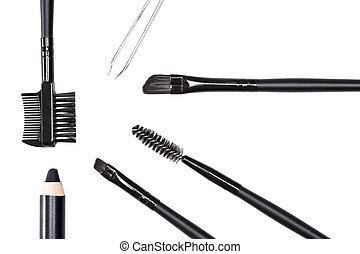Accessories for care of the eyebrows - Accessories for care...