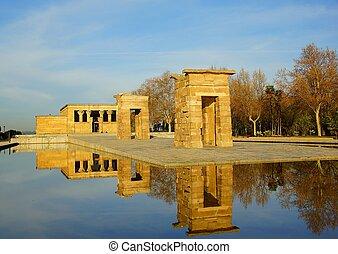 Templo de Debod in Madrid