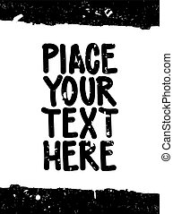 Place your text here. Speech bubble for your quote, text, good idea