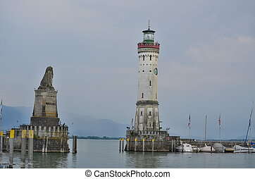 harbor on Lake Constance Germany