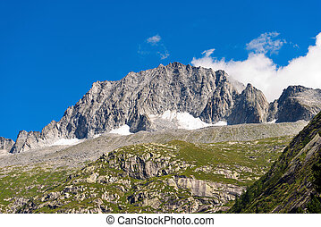 Care Alto - Adamello Trento Italy - Peak of Care Alto 3462 m...
