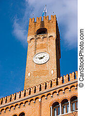 Civic Tower - Treviso Italy - The ancient civic tower of...