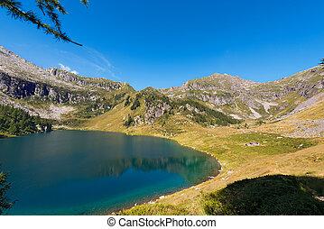 Lago di Campo - Adamello Trento Italy - Lago di Campo Campo...
