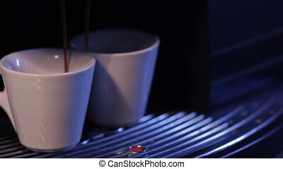 coffee cups filled with coffee