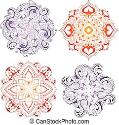 Orient ornamental set