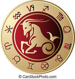 horoskop, koziorożec