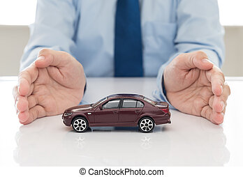 Car insurance - protection of car (automobile). insurance...