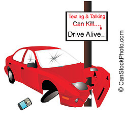 Texting and talking can Kill... say No..... - Texting and...