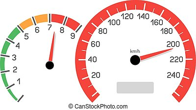 car speeding limit - Car speeding limit illustration...