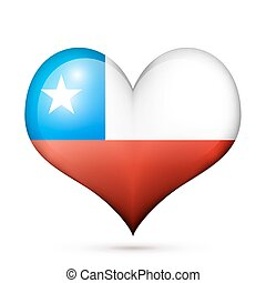 Chile Heart flag icon