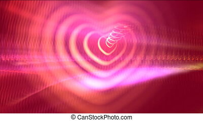 Motion Hearts Background - Love And Wedding Hearts Video...