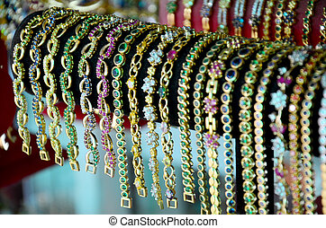 Bracelet jewelry Souvenir for show and sale traveler in...