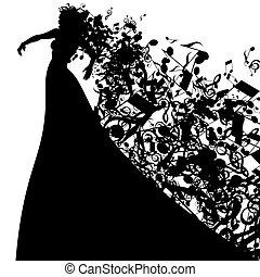 Opera singer Vector Clipart Illustrations. 697 Opera ...