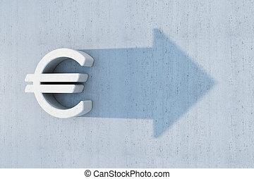 euro is grow