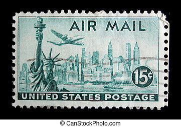 Vintage US commemorative postage stamp - UNITED STATES -...